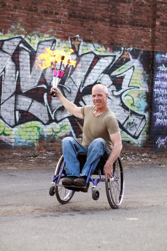 Frank Barham Has the Music in Him That He's Using to Support Whirlwind Wheelchairs - 10