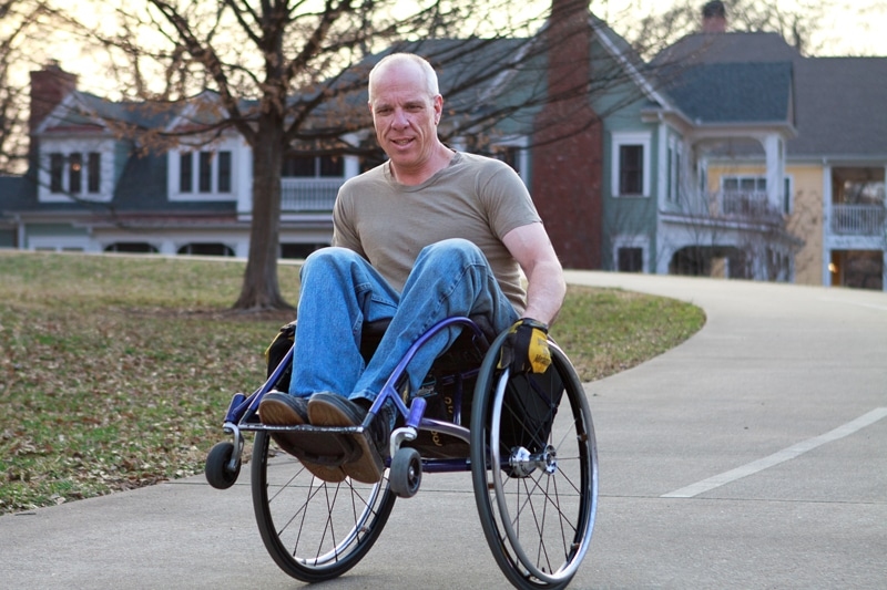 Frank Barham Has the Music in Him That He's Using to Support Whirlwind Wheelchairs - 2