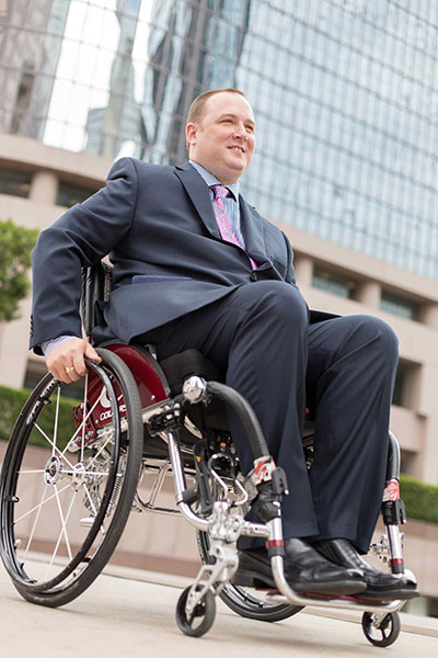 NetworkersOnWheels.com is the brainchild of Jerry O'Brien. It's a place where people can find disability-friendly services and resources.