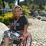 Paraplegic Kebra Moore Does It All: Singing, Modeling, Public Speaking & Raising a Family