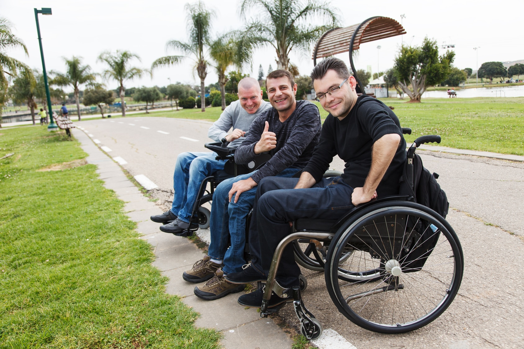 men who use wheelchairs