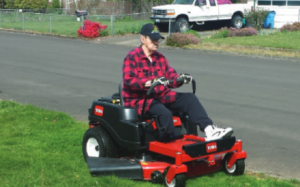 mowing-lawn