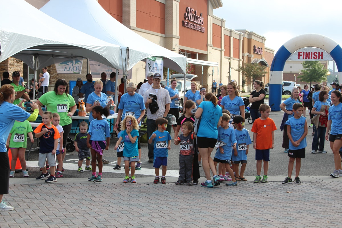 kids ready to run
