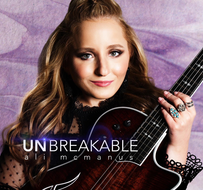 Ali McManus Unbreakable Album Cover