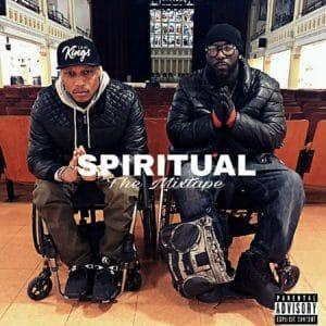 Velasquez and Norris on their Spiritual album cover